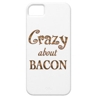 Crazy About Bacon iPhone 5 Cases