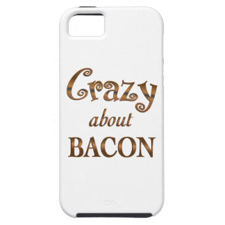 Crazy About Bacon iPhone 5 Cover