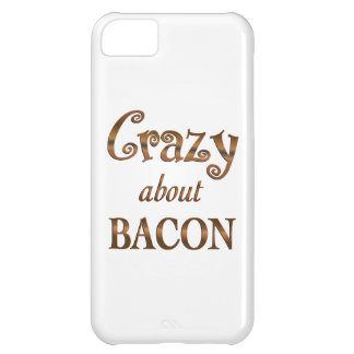 Crazy About Bacon iPhone 5C Covers