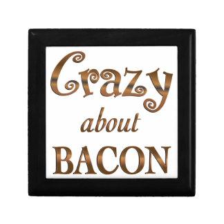 Crazy About Bacon Keepsake Boxes