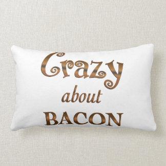 Crazy About Bacon Pillows