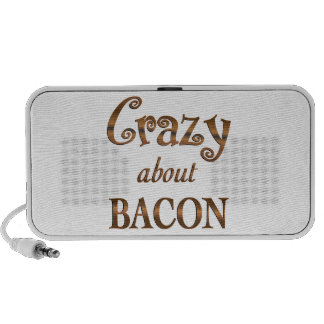 Crazy About Bacon Speaker