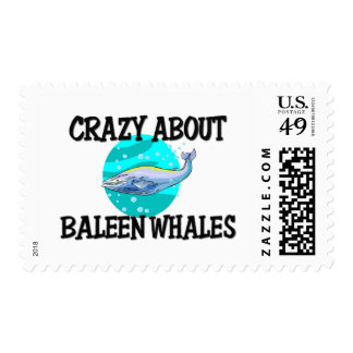 Crazy About Baleen Whales Postage Stamp