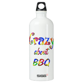 Crazy About BBQ Water Bottle