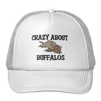 Crazy About Buffalos Trucker Hat
