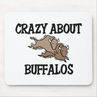 Crazy About Buffalos Mouse Pad