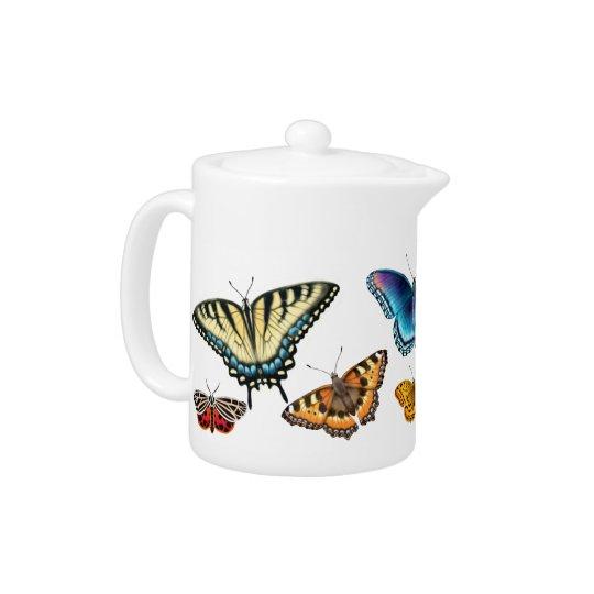 Crazy About Butterflies Teapots