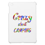Crazy About Camping iPad Mini Case