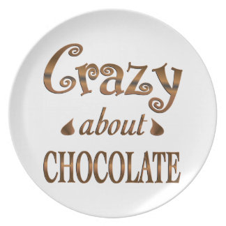 Crazy About Chocolate Dinner Plate