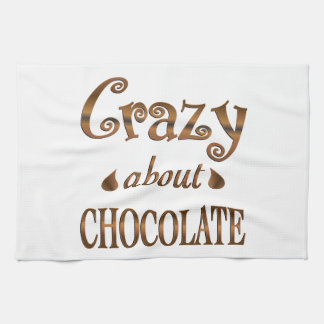 Crazy About Chocolate Towel