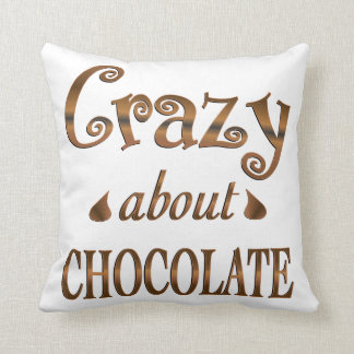 Crazy About Chocolate Pillow