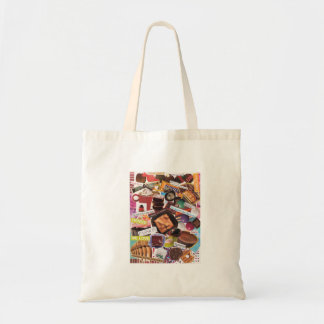 Crazy about Chocolate Tote Bag