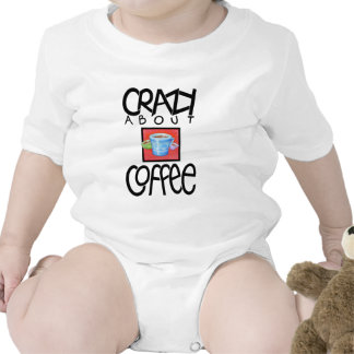 Crazy about Coffee black Infant T-shirt