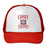 Crazy about Coffee red Hat