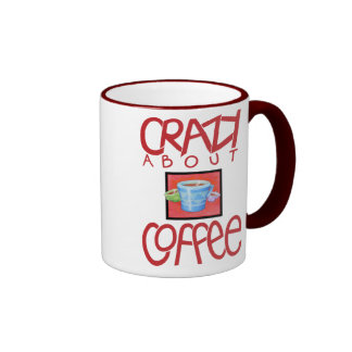 Crazy about Coffee red Mug