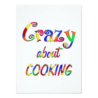 Crazy About Cooking Personalized Invite
