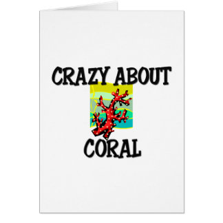 Crazy About Coral Card