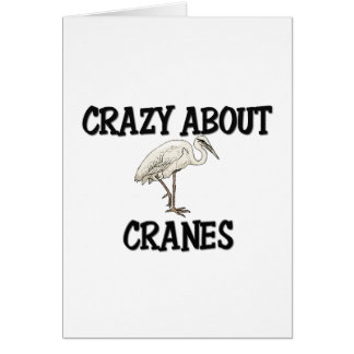 Crazy About Cranes Card