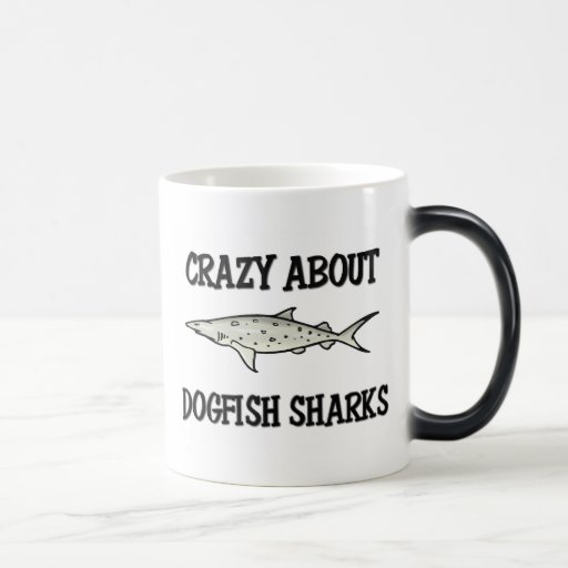 Crazy About Dogfish Sharks 11 Oz Magic Heat Color-Changing Coffee Mug