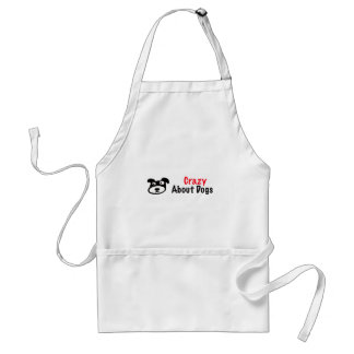 Crazy About Dogs Adult Apron