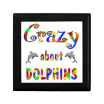 Crazy About Dolphins Jewelry Box