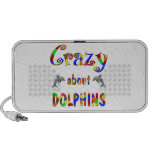 Crazy About Dolphins Portable Speakers