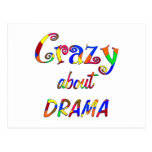 Crazy about Drama Postcard