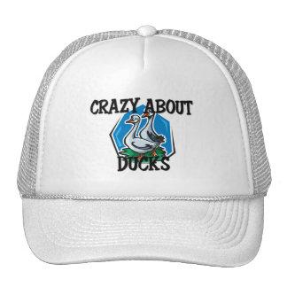 Crazy About Ducks Trucker Hat