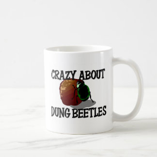 Crazy About Dung Beetles Classic White Coffee Mug