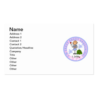 Crazy About Gardening Business Card