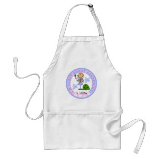 Crazy About Gardening T-shirts and Gifts Adult Apron
