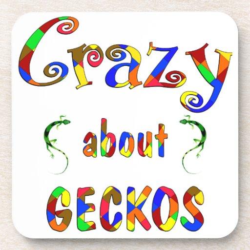 Crazy About Geckos Coaster