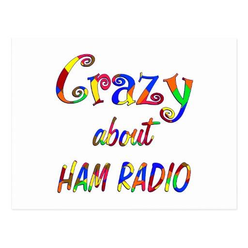 Crazy About Ham Radio Post Card