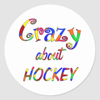 Crazy About Hockey Stickers