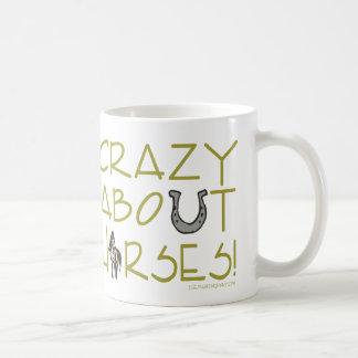 Crazy About Horses Coffee Mug