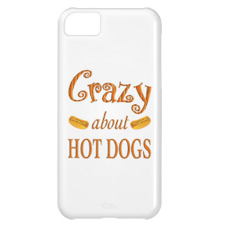 Crazy About Hot Dogs Case For iPhone 5C