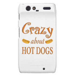 Crazy About Hot Dogs Droid RAZR Cover