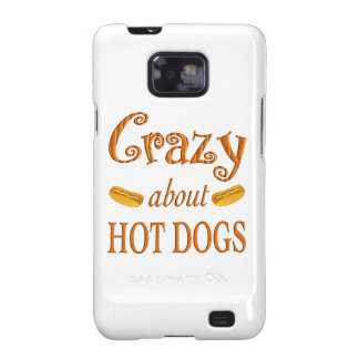 Crazy About Hot Dogs Galaxy S2 Covers