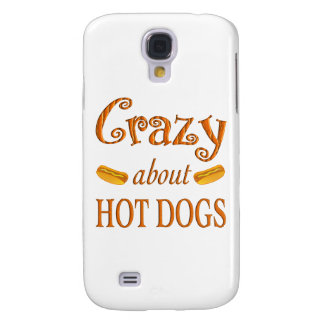 Crazy About Hot Dogs Galaxy S4 Cover