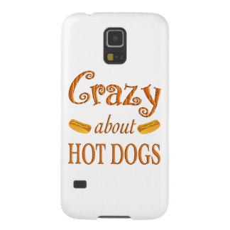 Crazy About Hot Dogs Galaxy S5 Cases