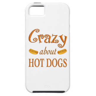 Crazy About Hot Dogs iPhone 5 Case
