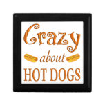 Crazy About Hot Dogs Keepsake Box