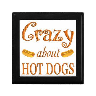 Crazy About Hot Dogs Keepsake Box