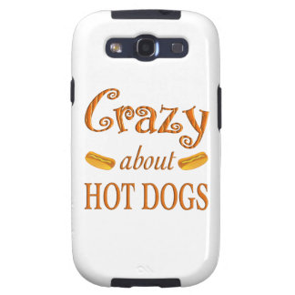 Crazy About Hot Dogs Samsung Galaxy S3 Covers