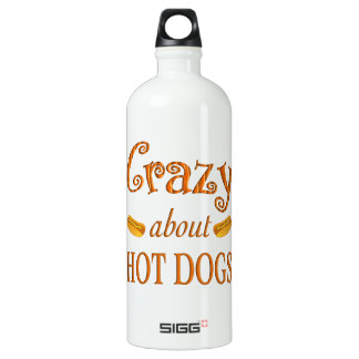 Crazy About Hot Dogs SIGG Traveler 1.0L Water Bottle