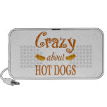 Crazy About Hot Dogs Travelling Speakers