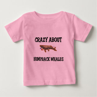 Crazy About Humpback Whales Baby T-Shirt