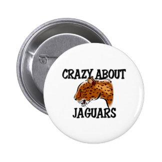 Crazy About Jaguars Button