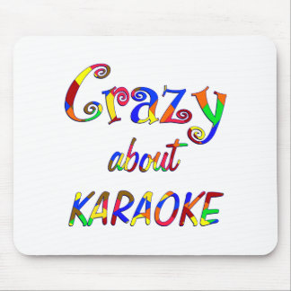 Crazy About Karaoke Mouse Pad