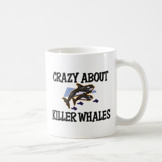 Crazy About Killer Whales Coffee Mug